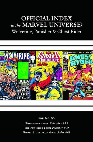 Wolverine, Punisher & Ghost Rider Official Index of the Marvel Universe (2011) #3