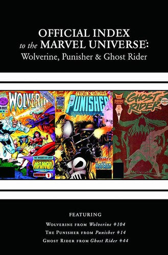 Wolverine, Punisher & Ghost Rider Official Index of the Marvel Universe (2011) #4