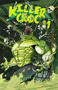 Batman and... (2011) #23.4 (Killer Croc 2D Cover)