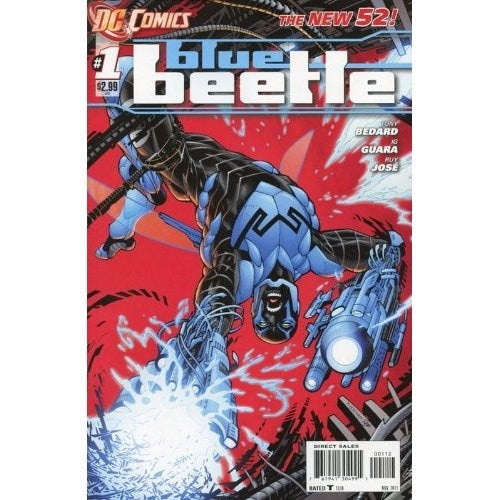 Blue Beetle (2011) #1 (2nd Print)