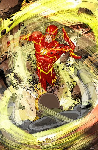 Flash (2011) #8 (Variant Edition)