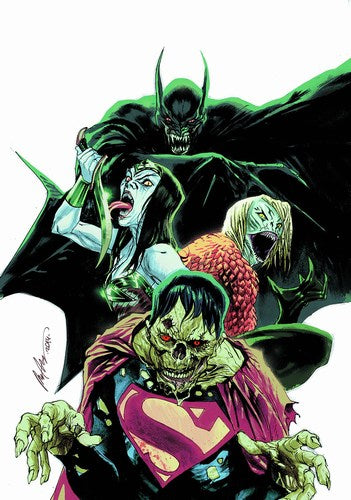 Justice League (2011) #35 (Monsters Variant)