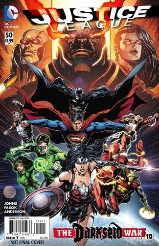 Justice League (2011) #50 (2nd Print)
