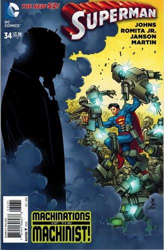 Superman (2011) #34 (1:50 Variant)