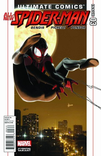 Ultimate Comics: Spider-Man (2011) #3 (2nd Print Andrews Variant)