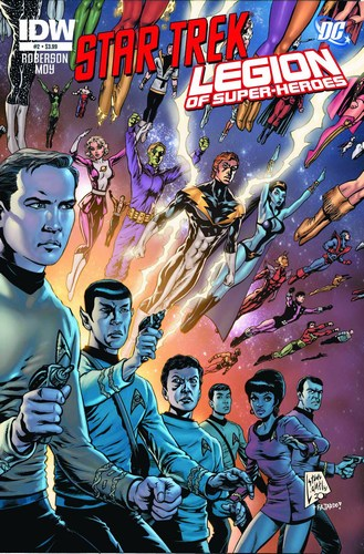 Star Trek/Legion of Super-Heroes (2011) #2