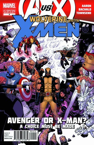 Wolverine and the X-Men (2011) #9 (2nd Print Bachalo Variant)