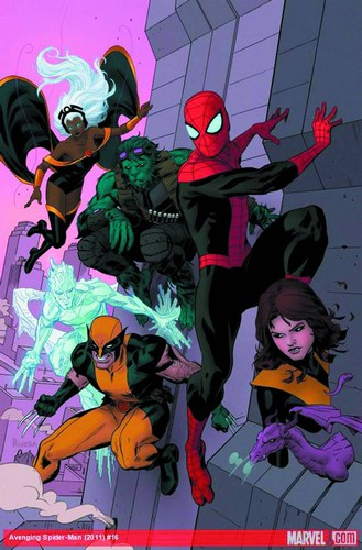 Avenging Spider-Man (2011) #16 (2nd Print Rivera Variant)