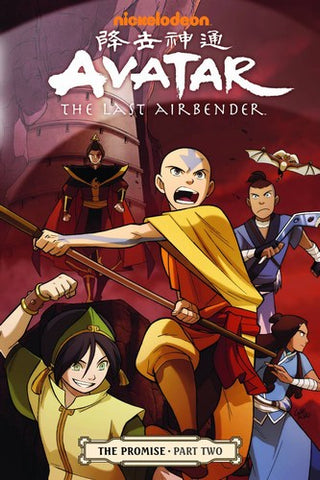 Avatar the Last Airbender Volume 2 Promise Part 2 TP