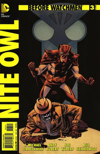 Before Watchmen Nite Owl (2012) #3 (1:25 Variant Edition)