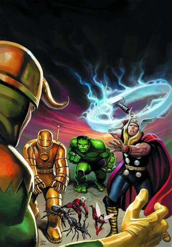 Avengers Coming of the Avengers (2012) #1