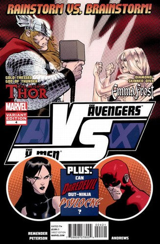 AVX Vs. (2012) #4 (1:20 Fight Poster Variant)