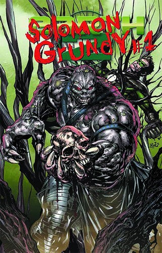 Earth 2 (2012) #15.2 (Solomon Grundy 2D Cover)