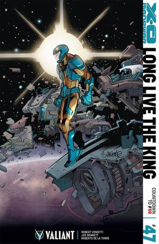 X-O Manowar (2012) #47 (Cover F 1:20 Variant Lafuente)
