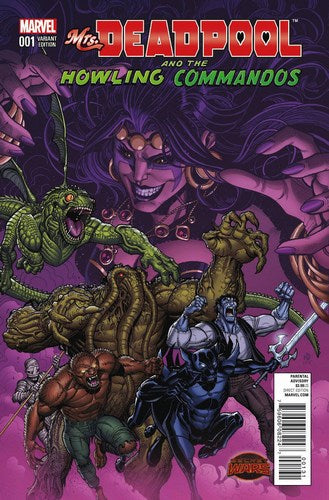 Mrs. Deadpool and the Howling Commandos (2015) #1 (1:25 Team Variant)