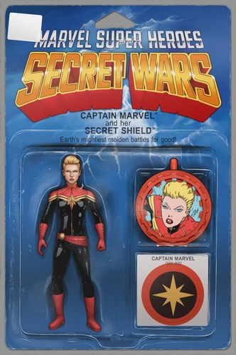 Captain Marvel and the Carol Corps (2015) #1 (Action Figure Variant)