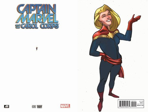 Captain Marvel and the Carol Corps (2015) #1 (1:15 Ant Sized Variant)