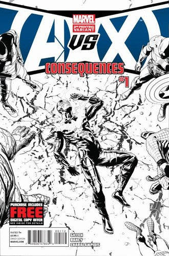 AVX Consequences (2012) #1 (2nd Printircher Variant)