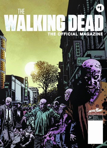 Walking Dead Magazine (2012) #1 (PX Edition)