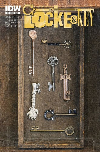 Locke & Key Omega (2012) #1 (Subscription Variant)