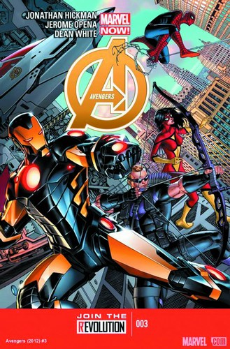 Avengers (2012) #3 (2nd Print Opena Variant)