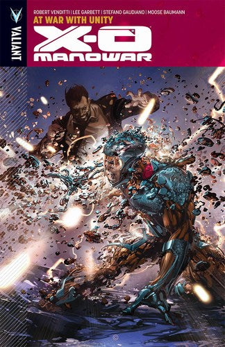 X-O Manowar TP Volume 5 (At War With Unity)