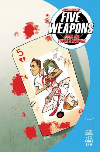 Five Weapons (2013) #6 (Cover B Guillory)