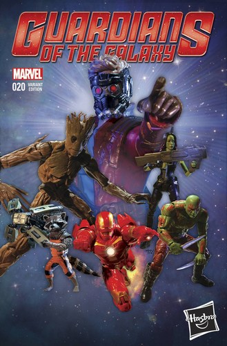Guardians of the Galaxy (2013) #20 (1:15 Hasbro Variant)