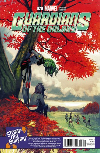 Guardians of the Galaxy (2013) #20 (1:15 Stomp Out Bullying Variant)