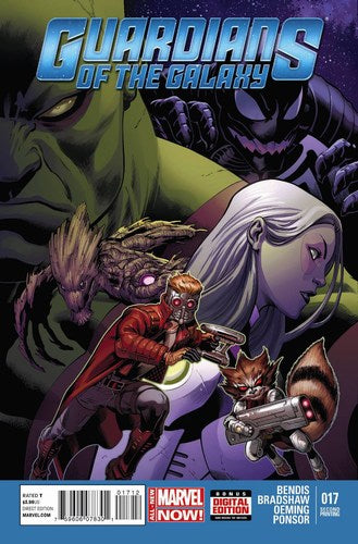 Guardians of the Galaxy (2013) #17 (2nd Print McGuinness Variant)