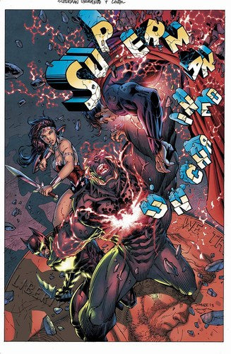 Superman Unchained (2013) #7 (Combo Pack)