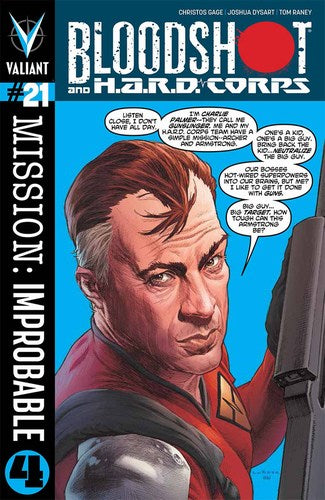 Bloodshot & Hard Corps (2013) #21 (Regular Larosa)