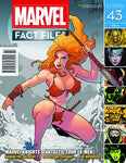 Marvel Fact Files (2013) #43 (Shanna The She-Devil Cover)