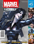Marvel Fact Files (2013) #45 (Domino Cover)