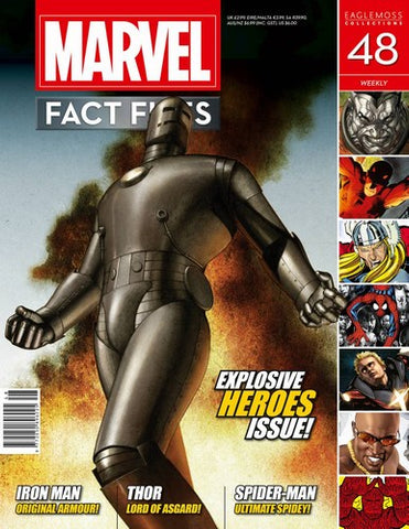 Marvel Fact Files (2013) #48 (Classic Iron Man Cover)