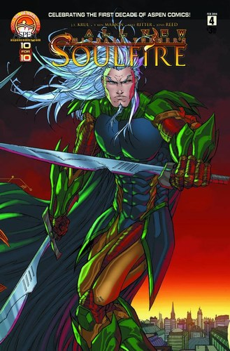 All New Soulfire (2013) #4 (Direct Market Cover D)