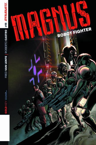 Magnus Robot Fighter (2014) #11 (Variant A Lau Main)