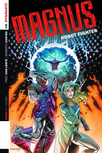 Magnus Robot Fighter (2014) #11 (Variant B Smith Subscription)