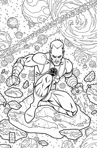 Sinestro (2014) #19 (Adult Coloring Book Var Ed)