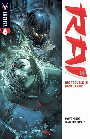 Rai (2014) #6 (Variant A Crain Signed by Clayton Crain)