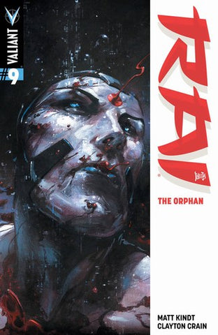 Rai (2014) #9 (Cover A Crain Signed by Clayton Crain)