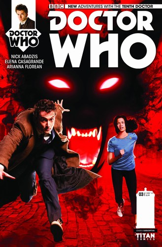 Doctor Who 10th (2014) #3 (Subscription Photo)