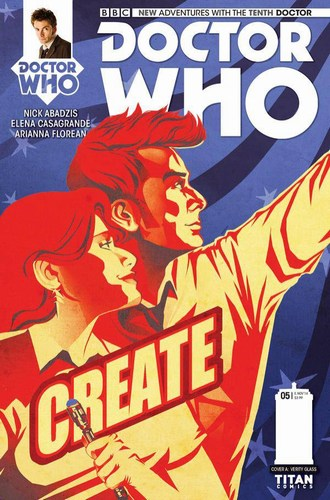 Doctor Who 10th (2014) #5 (Regular Glass)
