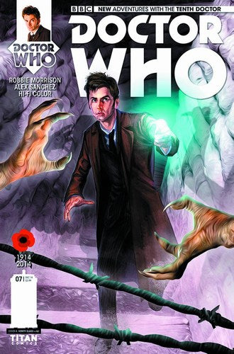 Doctor Who 10th (2014) #7 (Regular Glass)
