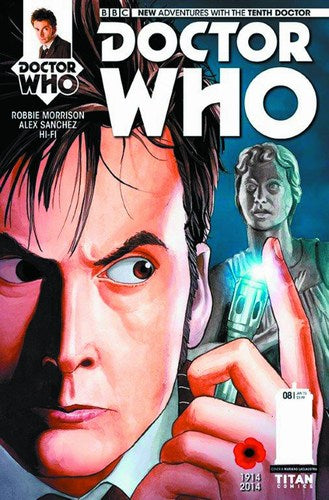 Doctor Who 10th (2014) #8 (Regular Laclaustra)