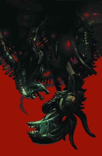 Aliens Fire and Stone (2014) #1 (Staples Variant)