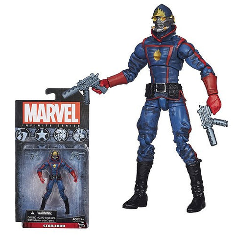 Marvel Infinite Platinum Star Lord Action Figure
