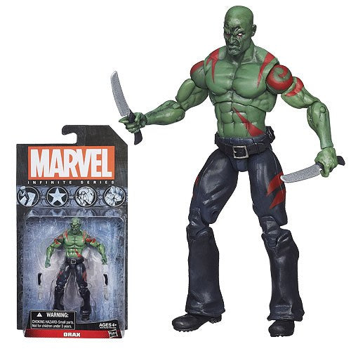 Marvel Infinite Platinum Drax Action Figure