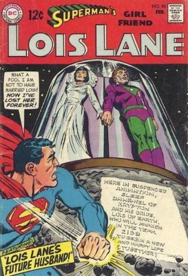 Supermans Girlfriend Lois Lane (1958) #90