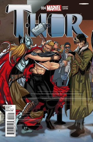 Thor (2014) #4 (1:20 Welcome Home Variant)